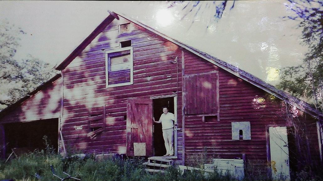 Barn on the Wallin Family Farm