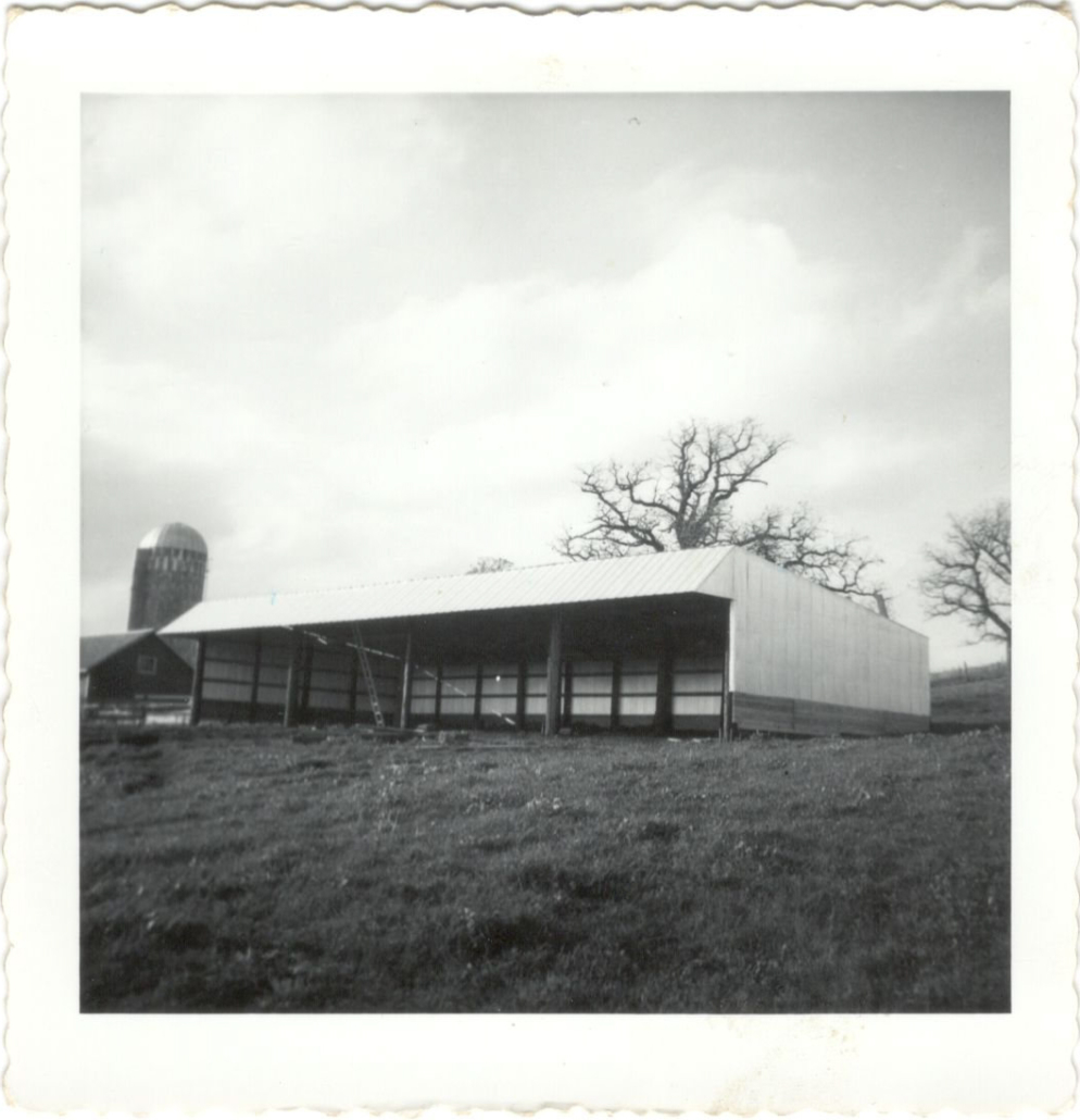 Silo and Barn on the Wallin Farm