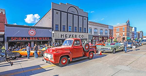 Hastings Car Show on Main Street