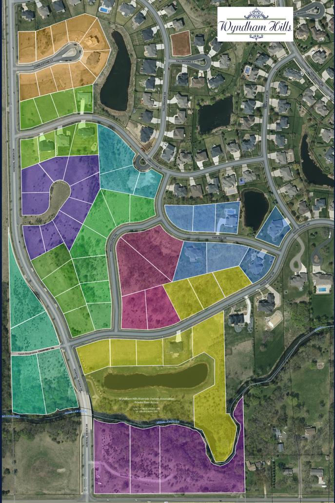 Wyndham Hills - Plat Hot Spot Map